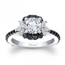 white and black diamond engagement rings barkev s black diamond engagement ring 7930lbkw