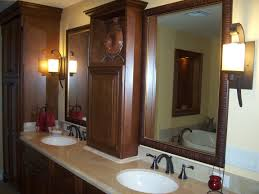 furniture decorative stone ridge cabinets bathroom with center