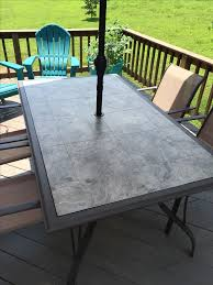 glass table top ideas patio furniture tile top nisartmacka com