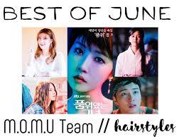 best hairstyles of june k drama amino