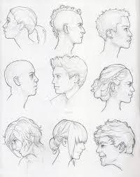 profile study sketches by tvonn9 on deviantart