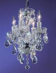 Miniature Chandelier Crystal Mini Chandelier Lighting Foter