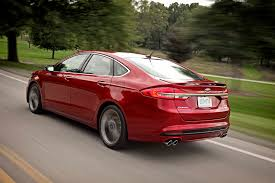 fords fusion 2017 ford fusion v 6 sport drive motor trend