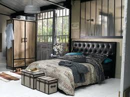 chambre industrielle chambre industrielle le style industriel catac meubles image 3
