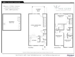 3 Bedroom Apartments Floor Plans Three Bedroom Apartments The Glen The Buffalo Area U0027s Premier