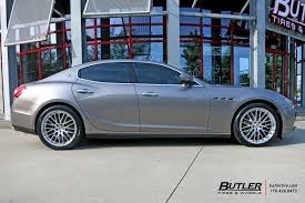custom maserati sedan maserati ghibli with 20in tsw max wheels exclusively from butler