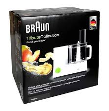 cuisine braun braun fp 3010 tribute collection food processor white ebay