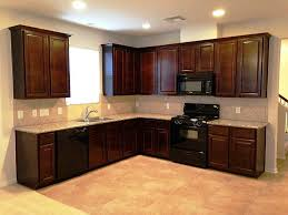 Craftsman Cabinets Kitchen Delighful Kitchen Color Ideas With Oak Cabinets And Black