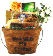 cookie gift basket cookie gift basket by personalized gift baskets