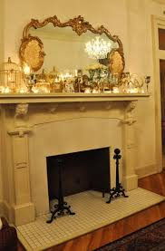 mirror over fireplace mantel home design ideas