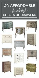 the french dresser 24 affordable french style chests of drawers