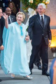 where does hillary clinton live hillary clinton swaps her pantsuit for a caftan becomes this