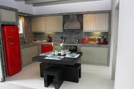 Indoor Kitchen Natural Building Marked In Stone Element Both Exterior And