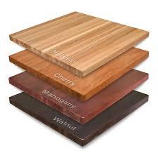 solid wood butcherblock table tops butcher block restaurant tables