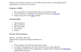 resume awful administrative assistant resume template word