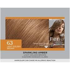 light golden brown hair color chart l oreal paris feria multi faceted shimmering color 63 light