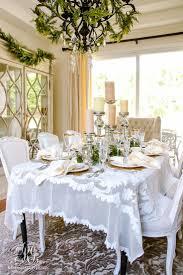 christmas dining room home design ideas