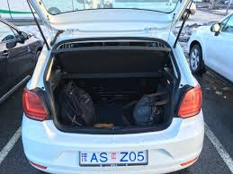 rental car classic 2016 vw polo u2013 sort of like vanilla ice i was