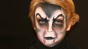 dracula vampire face painting tutorial vampire makeup for