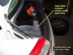 audi touch up paint audi paint codes paintscratch com