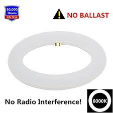 led circle light bulb 9 inch circline 12w t9 led light bulb daylight 6000k replacement
