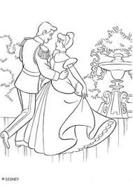 fairy godmother helps cinderella coloring pages paper toys