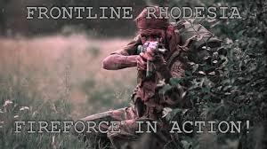 fireforce one man s war in the rhodesian light infantry frontline rhodesia by nick downie fireforce in action youtube