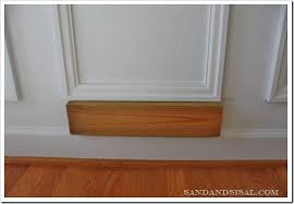 Where To Put Wainscoting In The Home Installing Wainscoting Sand And Sisal