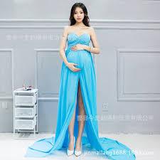 maternity dresses for photography white blue bink dress for