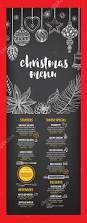 christmas party invitation restaurant flyer u2014 stock vector