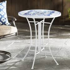 Mosaic Patio Table And Chairs Mosaic Patio Tables You Ll Wayfair