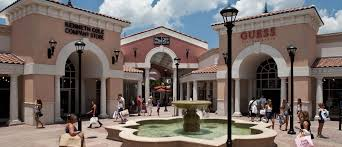 Orlando Premium Outlets Map International Drive Shopping Orlando Outlet Shopping Malls I