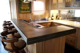 Zinc Kitchen Island - decor u0026 tips cast zinc countertops for kitchen island and bar