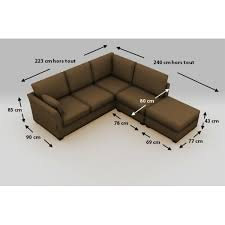 dimension canap canap d angle taille dimension canape avec on decoration