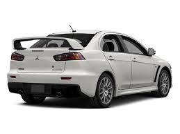 mitsubishi lancer evolution 2015 mitsubishi lancer evolution price trims options specs