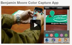 benjamin moore color iphone app demonstration shearer painting