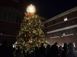 mt prospect flips the switch on christmas tree