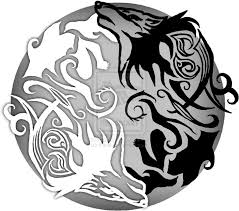 fashion ideas yin yang wolf