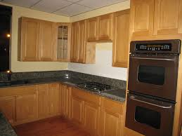 red kitchen walls with oak cabinets honey oak kitchen cabinets traditional light wood red concrete wall