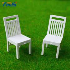 Buy Plastic Garden Chairs by 1 20 Scale Model Chair Train Platform Park Street Plastic Outside