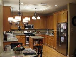 Overhead Lights For Kitchen by Wood Elite Plus Plain Door Talas Cherry Kitchen Ceiling Lights