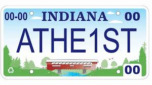 Ohio Vanity Plates Indiana Approves Man U0027s U0027athe1st U0027 License Plate After Appeal