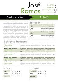 Modelos O Dise  os De Curriculum Vitae  u     Modelo De Curriculum Vitae   modelos de resume