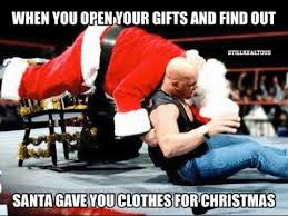 Stone Cold Meme - stone cold stuns santa clause memes youtube