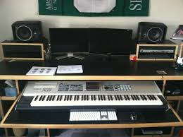 Music Production Desk Plans Force K88 Workstation For Keyboard Music Production Editing And