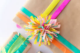 tissue paper gift wrap 3 ways to wrap with tissue paper tell and party