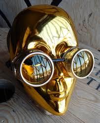 steunk masquerade mask i robot inspired steunk masquerade mask goggles set