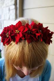 poinsettia flower headband pictures photos and images for