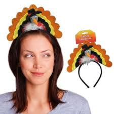 turkey headband turkey headband party accessory 1 count 1 pkg
