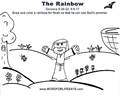 the rainbow u201d sunday lesson summary and activities for